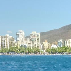 Rodadero-stranden