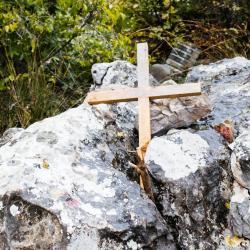 Uspon na brdo Križevac, Međugorje