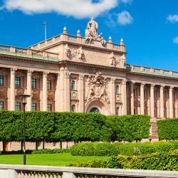 Здание парламента Швеции