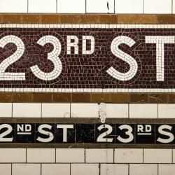23rd Street Lexington Avenue Line