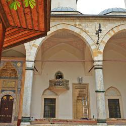 Gazi Husrev-beg Mosque in Sarajevo, サラエボ