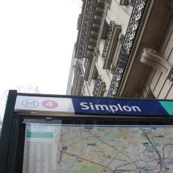 Estación de metro Simplon