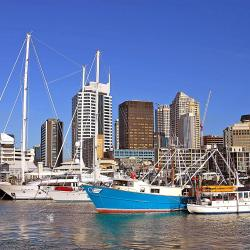 Puerto Viaduct Harbour, Auckland