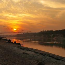 viseči most Ram Jhula