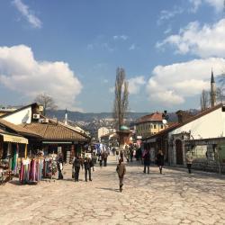 Bazar Baščaršija, Sarajewo