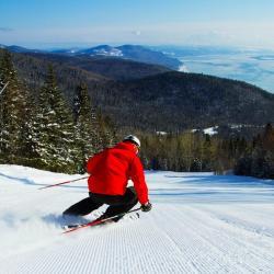 Station de Ski du massif de Charlevoix