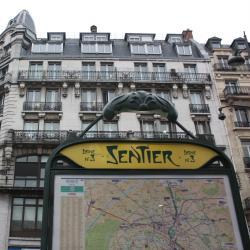 Estación de metro Sentier