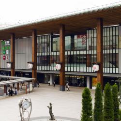 Dworzec kolejowy w Nagano