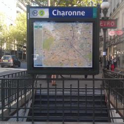 Charonne Metro Station