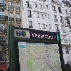 Vaugirard Metro Station