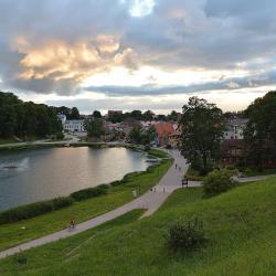 Talsu Lake Promenade, Talsi