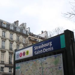 Estació de metro de Strasbourg Saint-Denis