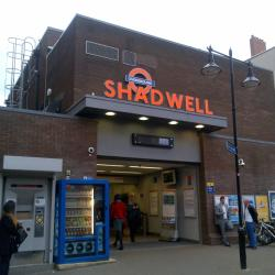 Shadwell Tube Station