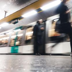 Parmentier Metro Station