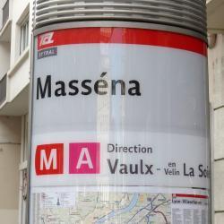Masséna Metro Station