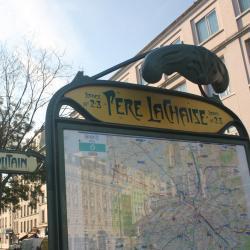Père Lachaise Metro Station