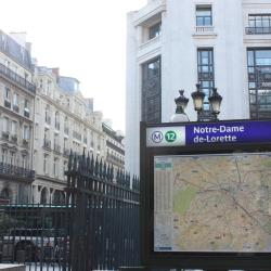 Σταθμός Μετρό Notre-Dame-de-Lorette
