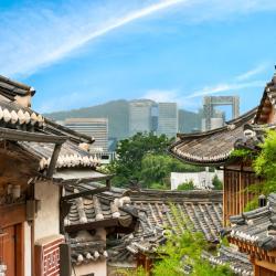 Bukchon Hanok Village, Seul