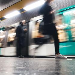 Rue Saint-Maur Metro Station