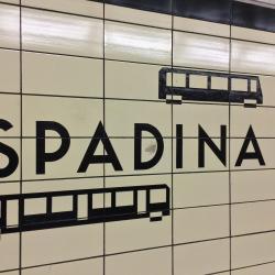 Spadina Metro Station