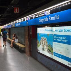Estación de metro Sagrada Familia