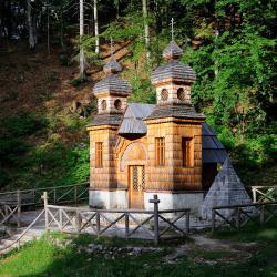 Russische Kapel bij de Vršič-pas