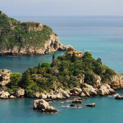 az Isola Bella sziget