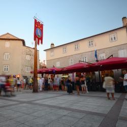 Piața orașului Krk