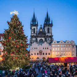 Julemarkedet i Praha, Praha