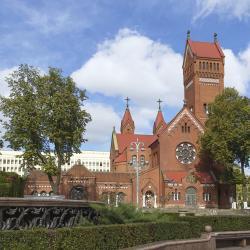 Church of Saints Simon and Helena, 明斯克