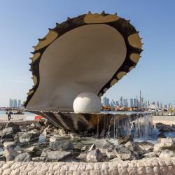a Gyöngy-sziget, Doha