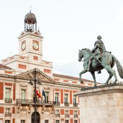 a Puerta del Sol tér, Madrid