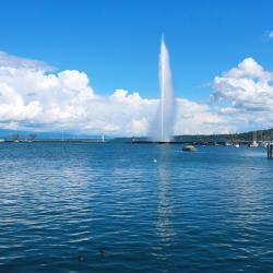 Canton Ginevra 8 hotel con piscina