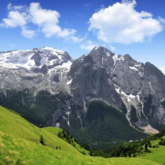 Muntele Marmolada, cea mai înaltă culme a Dolomiților