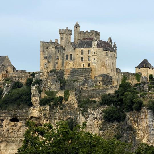 Het kasteel Beynac