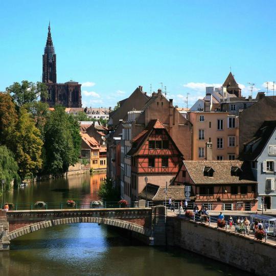Visite de Strasbourg, capitale de l'Alsace