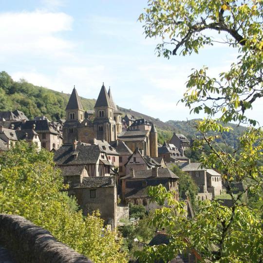 Medieval village of Conques