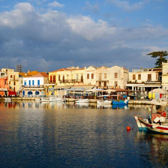 Rethymno Venetian Harbour and Fortress