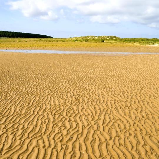 15 miles of sandy beach