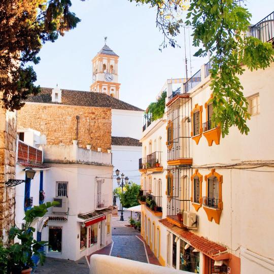 Marbellas gamla stadskärna