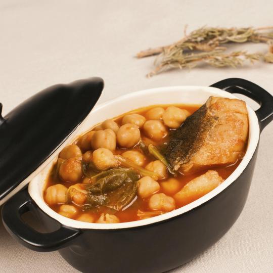 Cocido montañés (mountain stew)