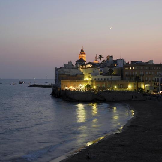 La vita notturna a Sitges