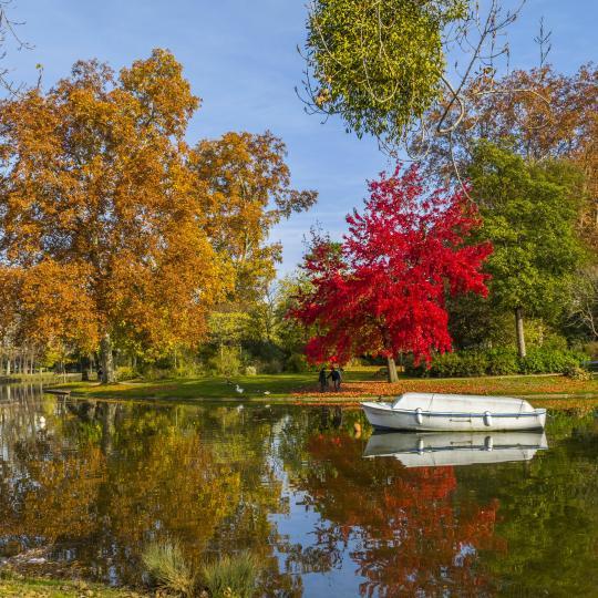 Ein Spaziergang durch den Bois de Vincennes
