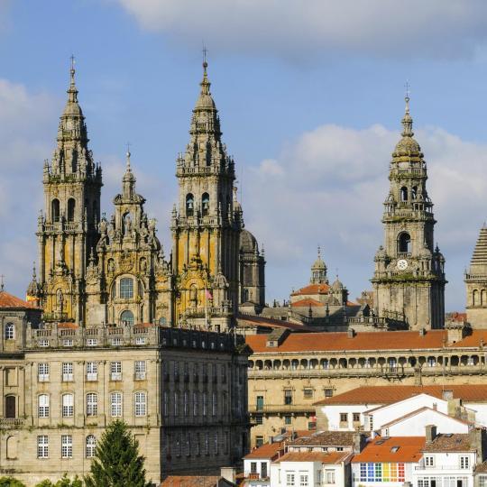Altstadt von Santiago de Compostela