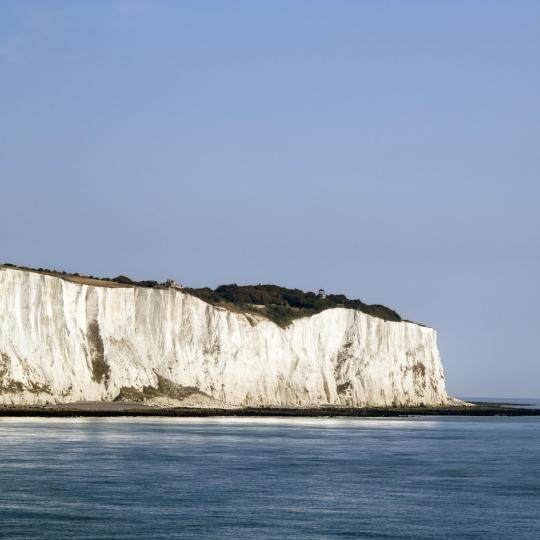 Enjoy a brisk walk atop the White Cliffs of Dover