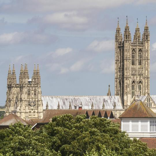 Canterbury Cathedral's UNESCO architectural wonder