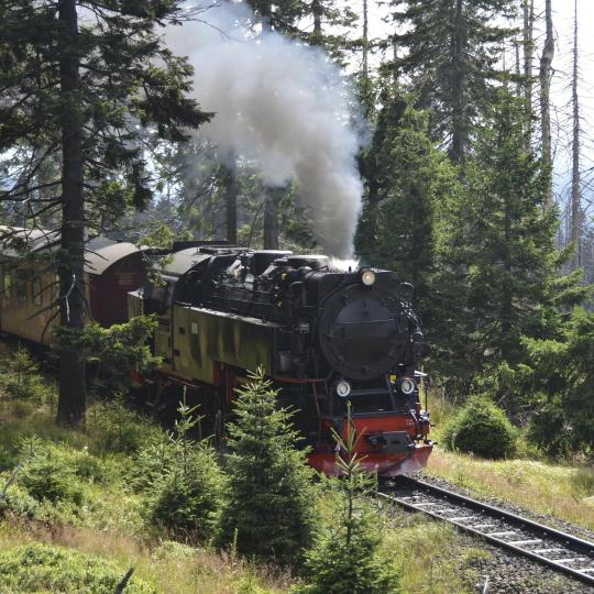 All aboard the Harz Narrow Gauge Railway