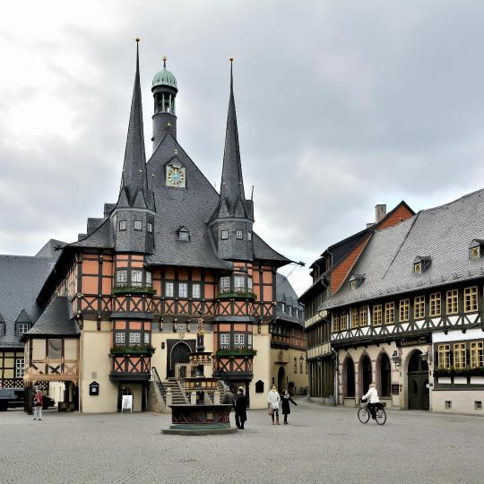 Wernigerode ve Brocken büyülemeye hazır
