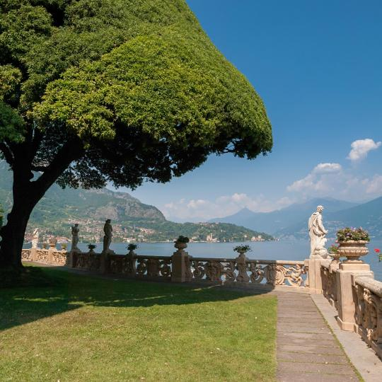 Step back in time and visit Villa del Balbianello