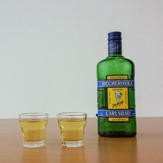 Becherovka herbal liquor